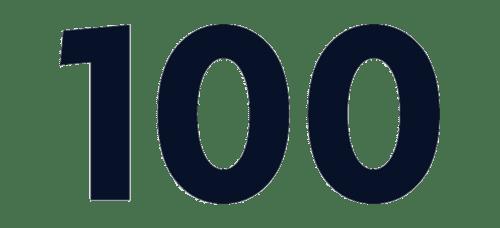 100 snurr Strategin