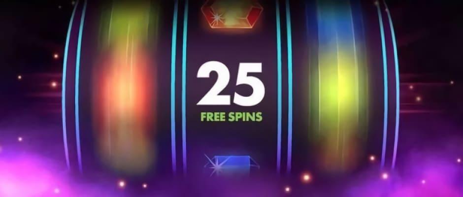 Bonus 25 free spin